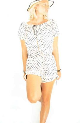 Riley Playsuit - Polka Dot