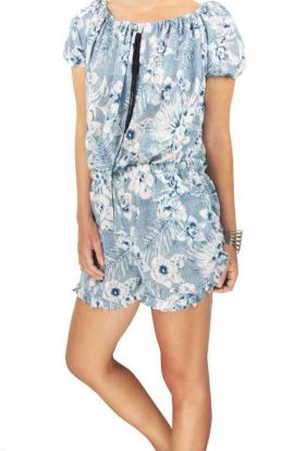 Riley Playsuit - Flower Love
