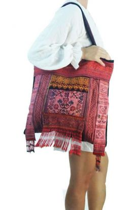 Bohemian Patchwork - Red