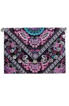Kimmi Clutch - Purple Butterfly