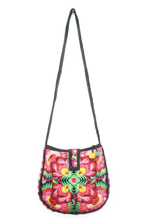 Cross Body Bag - Flowers