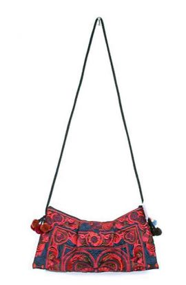 Cross Body Bag - Red Bird Small