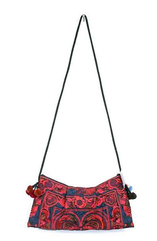 Red Bird Small Cross Body Bag