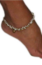 Beaded Bohemian Anklet